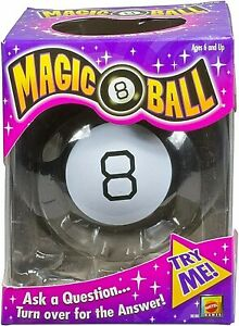 Magic 8 Ball Fortune-Telling Novelty Toy by Mattel The Original Brand new