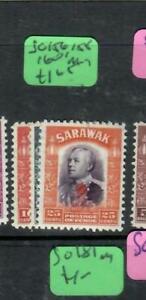 SARAWAK  (P2204B)  BROOK  ROYAL CYPHER  SG 156, 158, 160     MOG