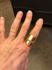 Maiyet 14K Gold Plated Copper Open Ring 8