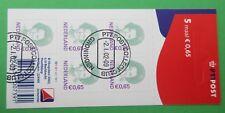 Nederland NVPH v2040  5x 0,65 euro logo PTT mooi gestempeld