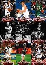 2010 Upper Deck World Of Sports 300 Card Set Michael Jordan Lebron James Tiger
