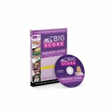 The Big Score Board Video Project Resource Craft Tutorial PC CD-ROM Sara Davies