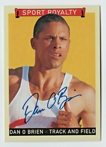 2008 Goudey Sport Royalty Authentic Autograph Dan O'Brien Decathlon Olympic Gold