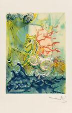 Neptune - Les Chevaux de Dali by Salvador Dali Art Print