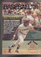 Cord Sportsfacts Baseball News 1972 Magazine Willie Stargell