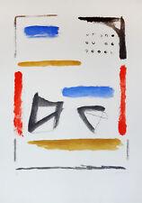ALBERT RAFOLS CASAMADA Aguafuerte firmado & numerado a lápiz   Arte Abstracto