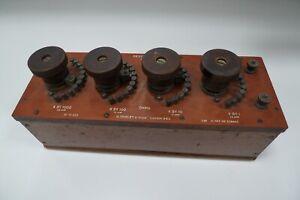 Resistance Box Tinsley London Instruments LF2 1 To 1K ohm