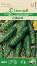 5x CUCUMBER MERENGUE H VERY EARLY FERTILE HYBRID DELICIOUS SMALL FRUIT 100 SEEDS
