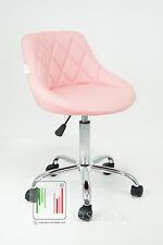 Sedia poltrona Gaia studio ufficio casa cameretta ergonomica girevole ecopelle