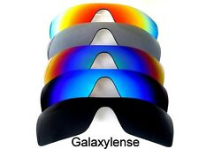 Galaxy Replacement Lenses for Oakley Batwolf Black/Blue/Green/Titanium/Red 5PCS