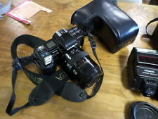 Minolta 7000 Maxxum 35 MM Camera with Extras - Used- See Pictures