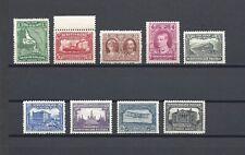NEWFOUNDLAND 1929 SG 179/87 MINT Cat £110