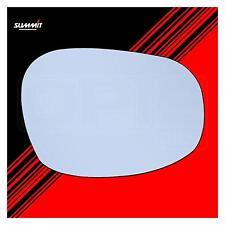 Riscaldato Back Plate Wide angolato SPECCHIO VETRO-Vertice asrg-877bh - adatti a BMW LHS