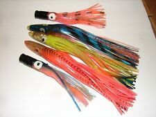 5 Big Game Trolling Saltwater FISHING LURE Tuna Mahi Marlin Lot Dorado kit