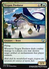 TRYGON PREDATOR Commander 2015 MTG Gold Creature — Beast Unc