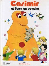 Casimir et l'ours en Peluche * IZARD album G.P. rouge et Or *  french book livre