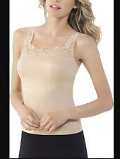 Vassarette Sz Large Women's Microfiber Camisole 17072 - Nude  NWT