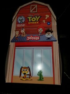 CASE OF 25 SEALED BLIND BAGS 2019 MATTEL TOY STORY MINIS AL'S TOY BARN DISNEY