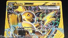 Raichu BREAK 50/162 XY BreakThrough NEAR MINT Pokemon Card