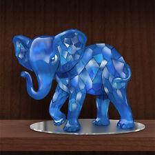 Matriarch of the Blue Garnet Rarest Gems Elephants of the World Figurine