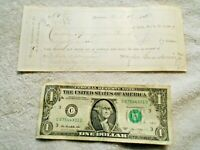 1873 Hayden, Guardenier Co to Beebe & Tillinghast Dry Goods West Valley NY Check