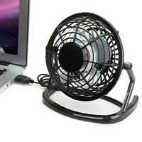 KQ_ USB Mini Desktop Office Fan 360 Degree Rotatable Computer Laptop Summer Cool