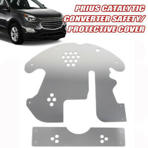 Catalytic Converter Shield Anti Theft Protect Cover Fits Car 10-15 Toyota Prius