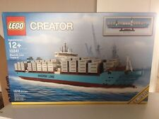LEGO Creator 10241 Maersk line trip-E container ship new SEALED