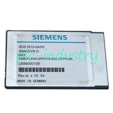 Used Siemens 6Dd1610-0Ah0 6Dd1 610-0Ah0 Tested Ok