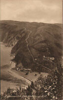 lynmouth - countisbury hill   . early 1900s friths series  card