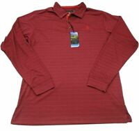 Pebble Beach Dry Luxe Mens Size M Performance Long Sleeve Golf Shirt