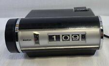 Vintage SANKYO No.401 Black Digital Clock with Alarm Japan - Tested