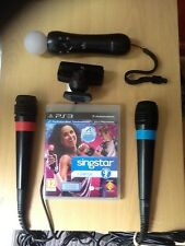 Singstar Dance Spanish Game PS3 bundle just Move Controller Camera Wired Mics