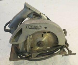 """Sears Craftsman 7"""" Electric Circular Saw 31527782"""