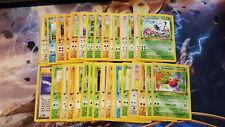 Pokemon Cards 32x Pokemon Cards Complete Jungle 1st Edition C/U