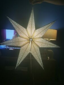 Ikea Strala Star Lamp Includes Bulb, All Working And Perfect
