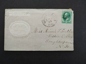 Connecticut: Greenwich 1870s Seamen's Friend Society Advertising Cover