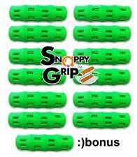 SNAPPY GRIP Egonomic Replacement Bucket Handles 12 SAFETY NEON GREEN + BONUS