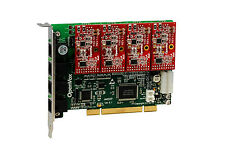 OpenVox A400P04 Asterisk PCI Card 4 Port 0 FXS 4 FXO VoIP PBX