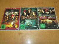 Fluch der Karibik - Die Piraten-Trilogie (2007) 3-DVD Set  DVD