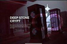 Destiny 2 BEYOND  LIGHT DEEP STONE CRYPT   FULL RAID Ps4/PS5 Crossave PC/XBOX