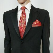 Ben Sherman Mens Suit Tuxedo Jacket Black Wool Blend 38R EU 48R New NWD RRP£175