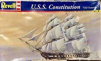 REVELL USS CONSTITUTION PLASTIC MODEL KIT 1:196 SKILL 3 OLD IRONSIDES NAVY SHIP