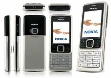 New Condition Nokia Brand 6300 - Silver (Unlocked) Camera Classic Mobile Phone