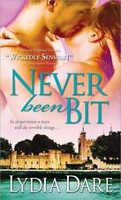 Never Been Bit by Lydia Dare (2011, Paperback)