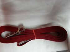 Extra Large Red Harness and Leash Set Heavy USA