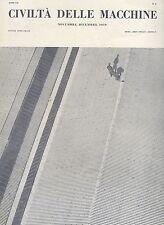 CIVILTÀ DELLE MACCHINE n° 6 NOVEMBRE - DICEMBRE 1959