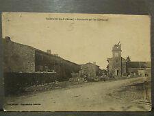 cpa 55 hannonville bombardé par les allemands guerre 1914