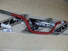 NEW FLY RACING ATV BARS HANDLEBARS + PAD RED YAMAHA YFS200 BLASTER 200 YFZ450