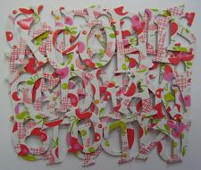 "K & Company ~CHERRIES~ Chipboard Letters & Die Cuts 1.5"""